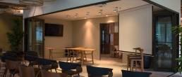 dojo empty office event space