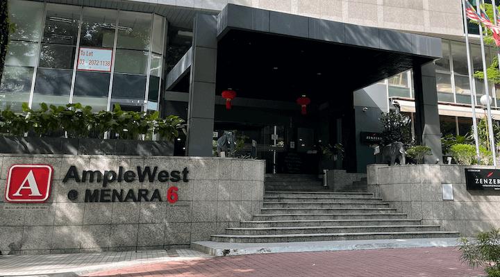 Dojo menara ample west office